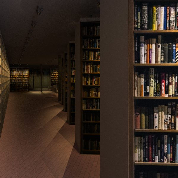 The Clute Science Fiction Library in Telluride.