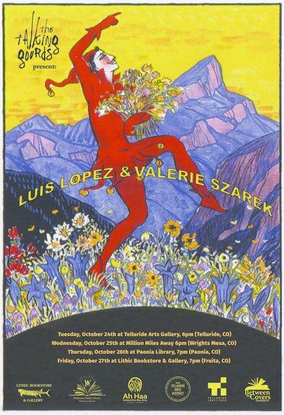 Luis Lopez & Valerie Szarek Make Western Slope Poetry Tour