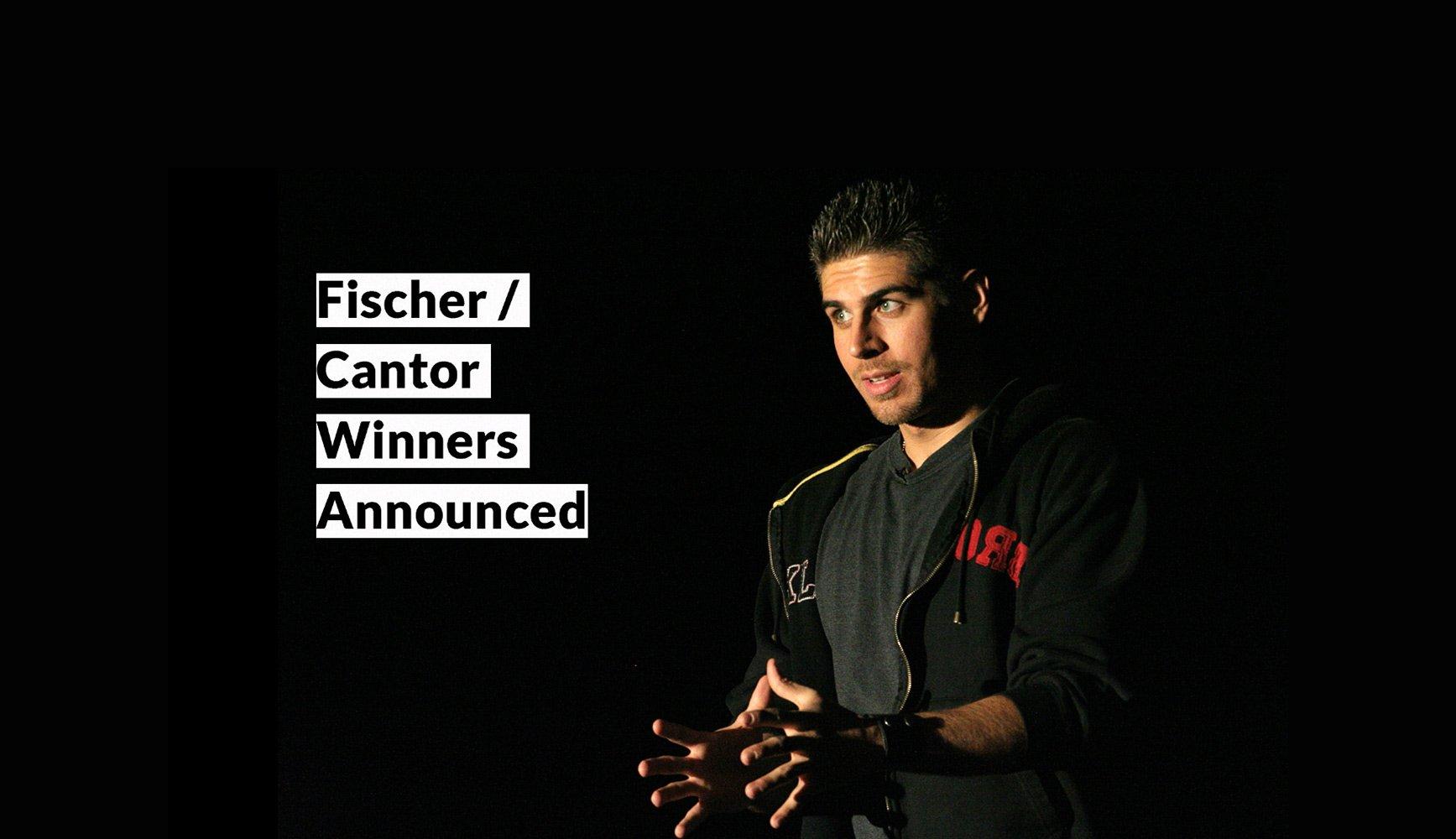2019 Fischer/Cantor Winners & Poems