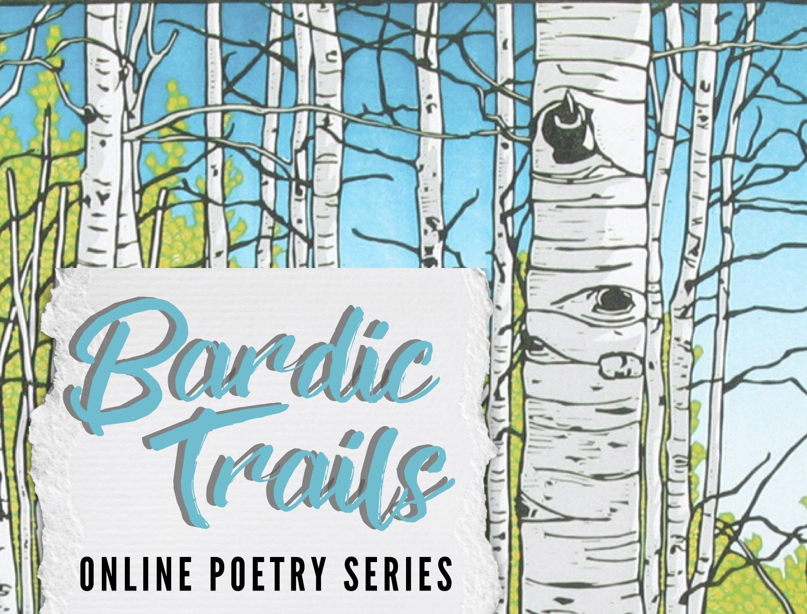 June 1st Bardic Trails Zoom series with Melissa Studdard!